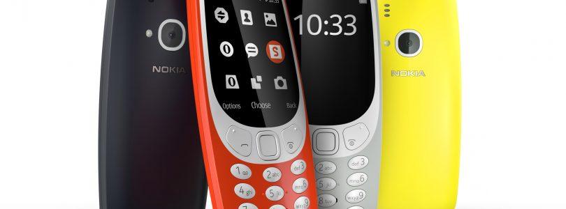 Bemutatkozott az új Nokia 3310-es